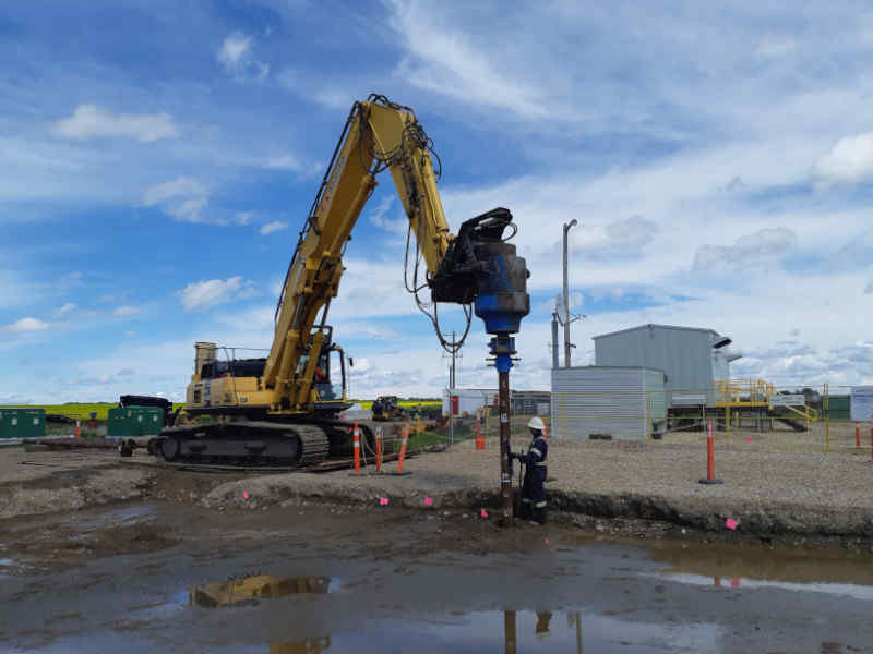 Pile Inspection and Capacity Evaluation