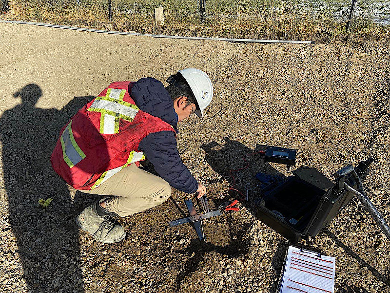 Industry-lead in Non-nuclear Density Gauge for Field Compaction Testing